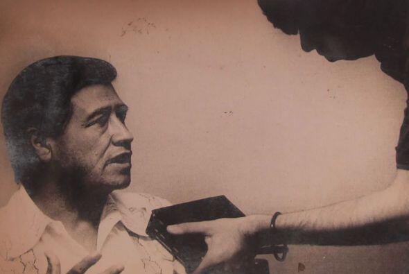 Aquí vemos una entrevista que Jaime hizo a César Chávez.