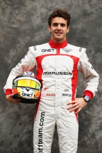 Jules Bianchi, Francia, Marussia-Cosworth.
