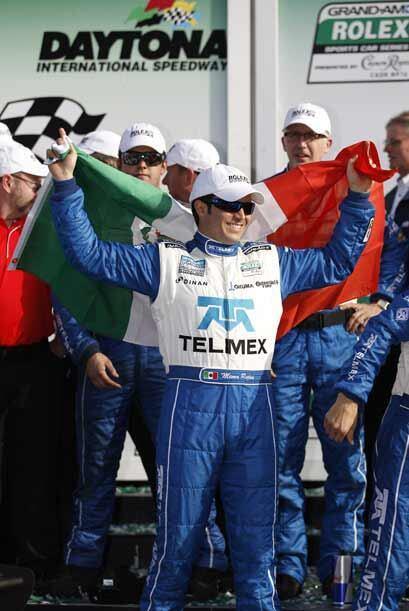 'Memo' Rojas logró su segunda victoria en las 24 Horas de Daytona y la t...