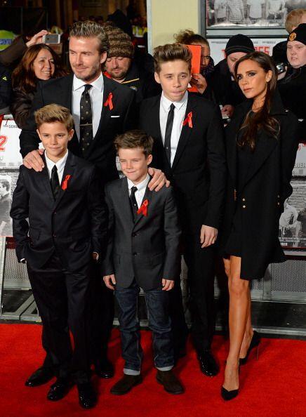 Los hijos de los Beckham son otros pequeños afortunados que han c...