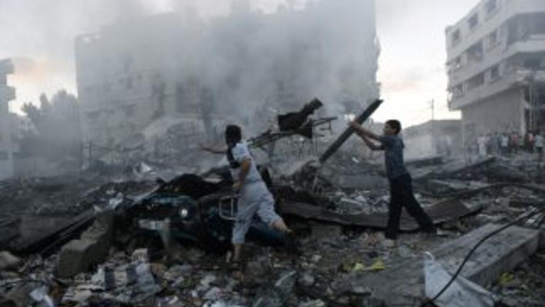 Su hijo Abed Salam Haniyeh, precisó quefueron dos ataques en total y qu...