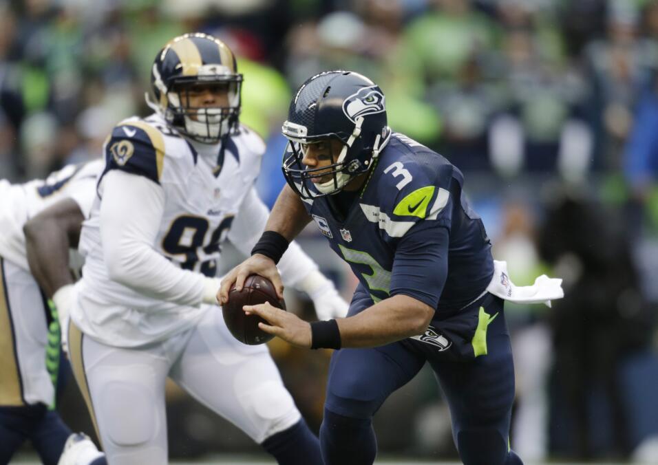 Los St. Louis Rams vencieron 23-17 a los Seattle Seahawks, primera vez d...
