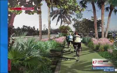 Exclusiva: Resideñarían vía para ciclistas en Miami