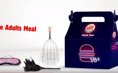Fotograma de la campaña de la compañía de hamburgue...