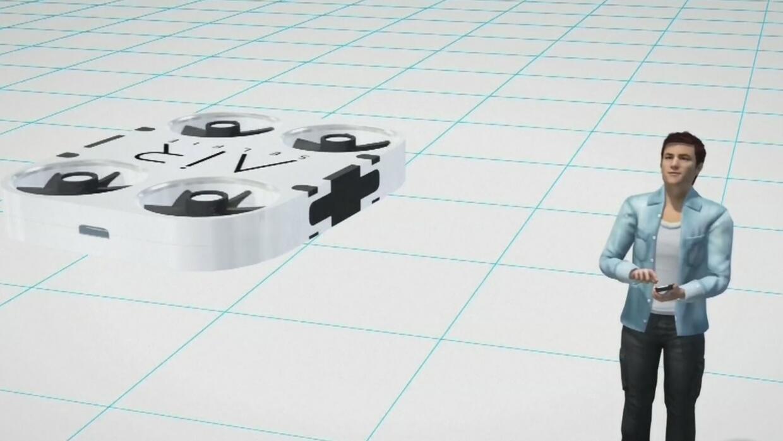 ¿Quieres tomarte un selfie desde las alturas? Necesitas este drone minia...