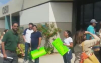 Manifestantes exigen la renuncia del senador Frank Artiles por expresion...