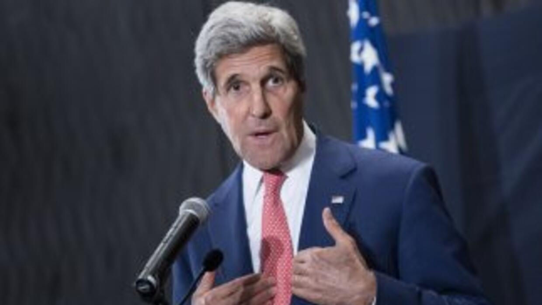 El secretario de Estado de EEUU,John Kerry.