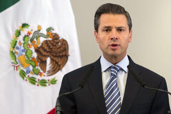 """Enrique Peña Nieto: """"Mi tristeza y solidaridad a los heridos..."""