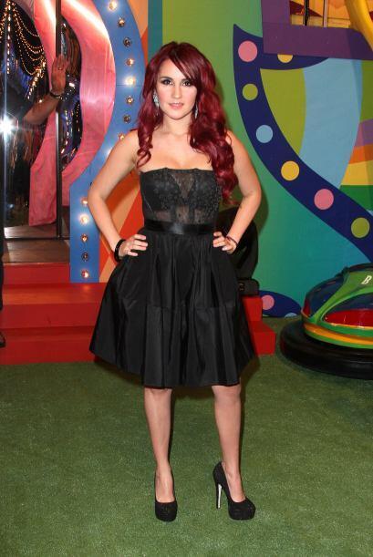 Dulce María en Premios Juventud 2014.
