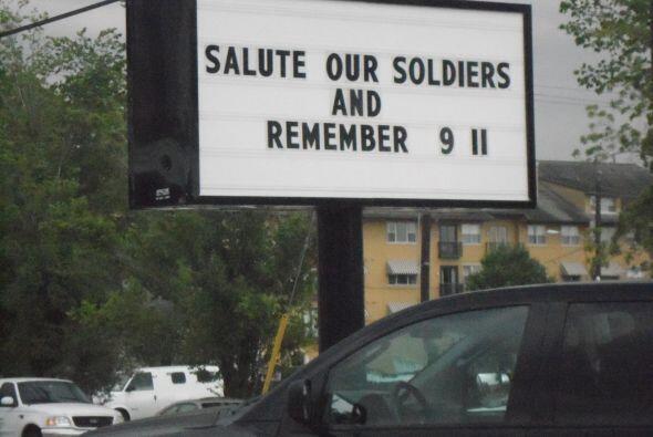 Esto debido a que la fiesta se realizó en honor de los soldados que comb...