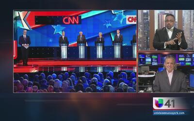 ¿Quién se destacó más en el Debate Demócrata?