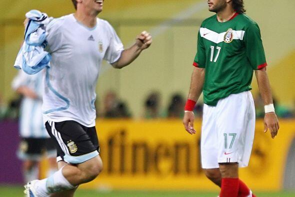 En Octavos de Final se encontró con Argentina. México real...