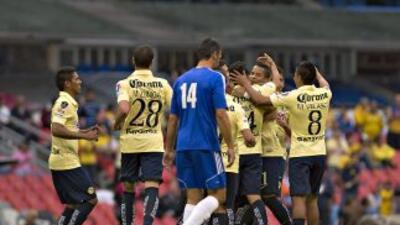 América goleó al Bayamón en su estreno en la CONCACAF.