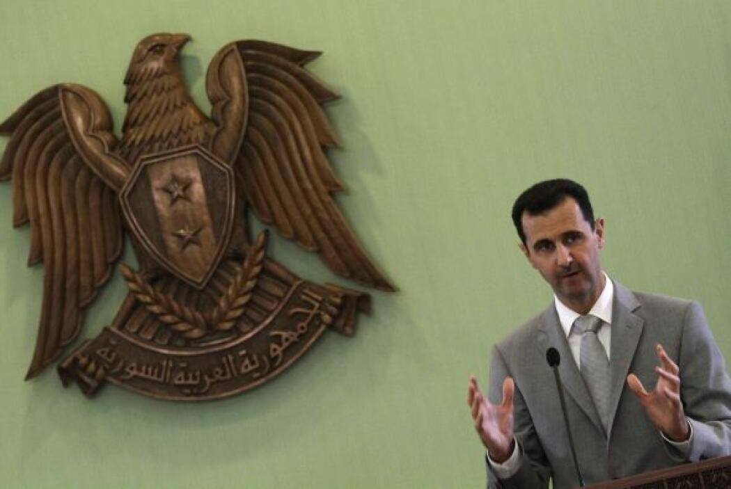 Siria. El presidente es elegido por el Partido Baah y no por medio del v...