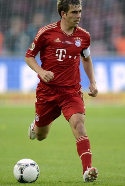El capitán Philipp Lahm se ha vuelto alma de este equipo, refleja...