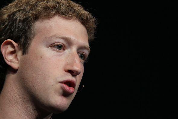 13. Mark Zuckerberg, cofundador y CEO de Facebook, fue ubicado en la pla...