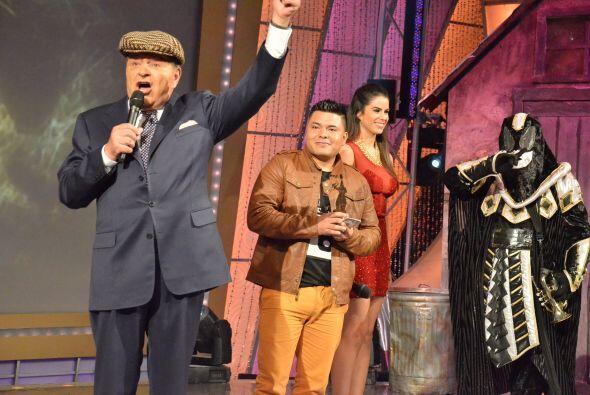 El ganador es Augusto Franco que con el tema 'Yo no me doy por vencido'...