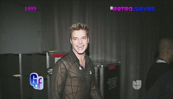 Retrojueves: Recordando la 'vida loca' de Ricky Martin en 1999