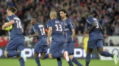 El gol de Alex le valió un punto al PSG, aunque el pronóstico era de tri...