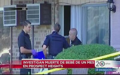 Investigan muerte de bebé en Prospect Heights