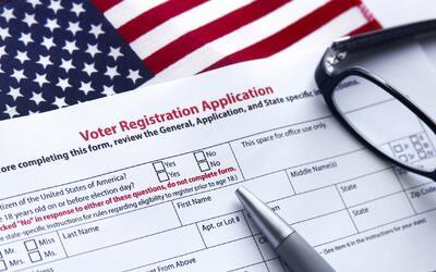 Hoja inscripción para votantes