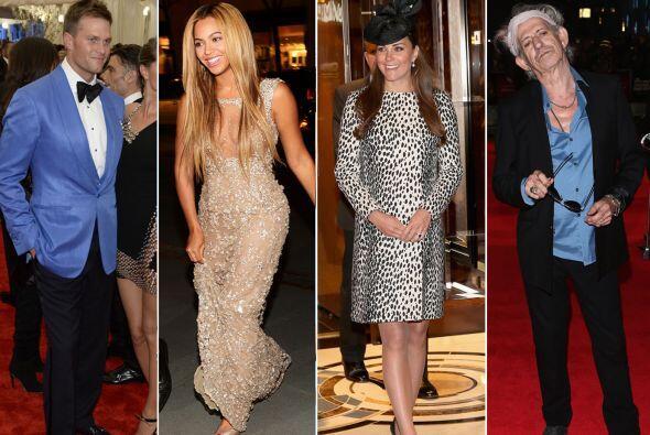 Estos famosos han impactado con su estilo y manera de vestir, por ello s...