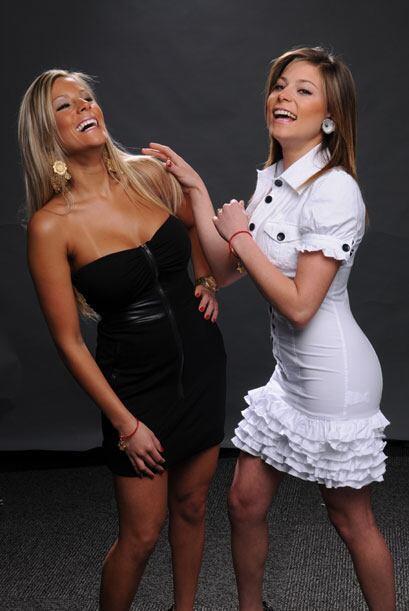 Pero Cindy y Brigitte son hermanas también fuera de la pantalla.