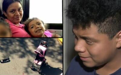 Derick Telio Cahuec, de 13 años, recordó el horror que vivió la mañana d...
