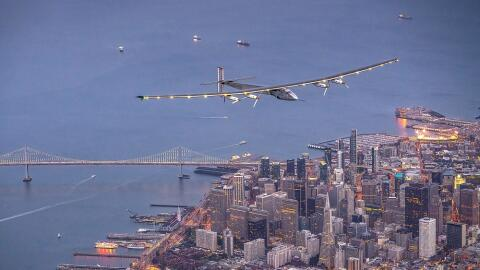 Impulse 2 sobrevuela San Francisco