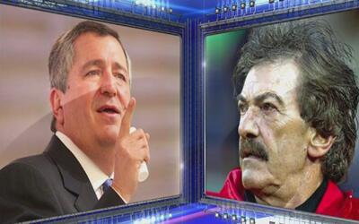 Jorge Vergara le dedicó al técnico del América la victoria de Chivas y l...