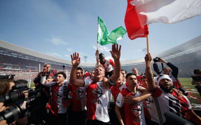 Feyenoord celebra su titulo en la Eredivisie