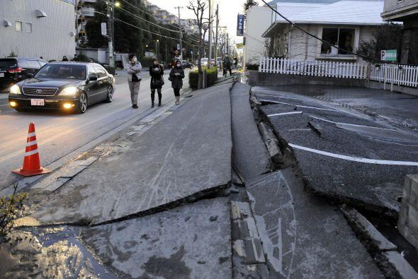 Debido a la intensidad del terremoto, las alertas de tsunami cubrieron t...