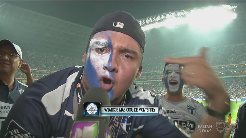 El fanático más cool del Monterrey