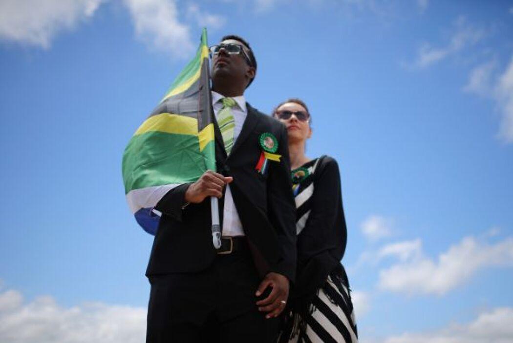 Los sudafricanos agradecen el legado de Madiba.