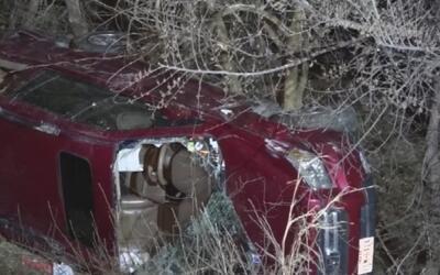 Buscan a conductor responsable de accidente de tráfico que dejó nueve pe...
