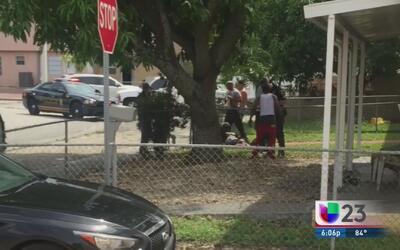 Autoridades investigan un tiroteo en Miami Gardens
