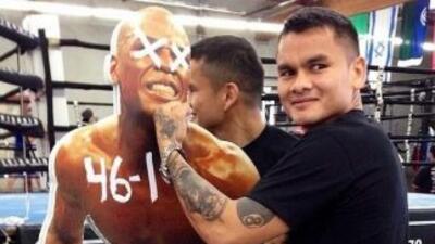 Marcos 'Chino' Maidana calienta la contienda contra Floyd Mayweather Jr....