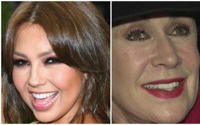 La relación entre Thalía y su hermana Laura Zapata no va nada bien