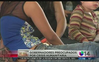 Gobernadores preocupados por el precio de la crisis en la frontera