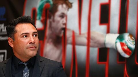 Oscar De la Hoya, presidente de Golden Boy Promotions.