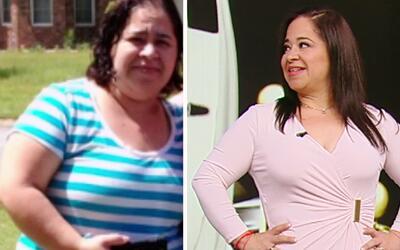 Gabriela no sólo perdió libras, también perdió esos años de más que le d...