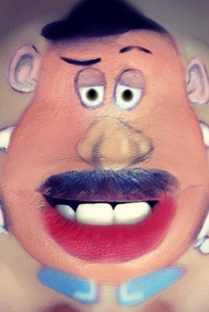 También está el señor cara de papa, uno de los personajes principales de...