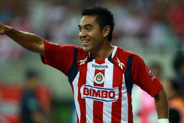 Durante los buenos torneos que tuvo con las Chivas del Guadalajara el of...