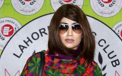 Muere la Kim Kardashian de Pakistán estrangulada por su hermano
