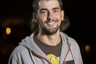 Seth Ashworth posa para una foto durante el Primer Descenso Red Bull: Pr...