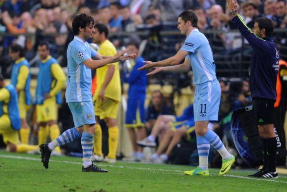 La mala noticia fue la lesión de David Silva. El español fue reemplazado...