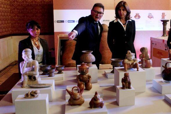 Estas 691 piezas representan diversas culturas precolombinas y en ellos...