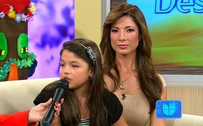 Sarita hija de Priscila escribió una canción contra el abuso en las escu...