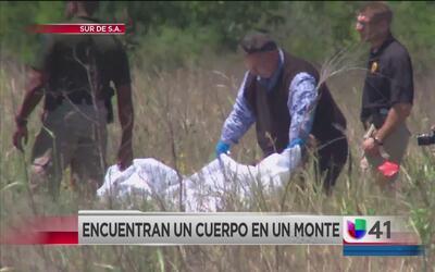 Autoridades hallan cadáver al sur de San Antonio