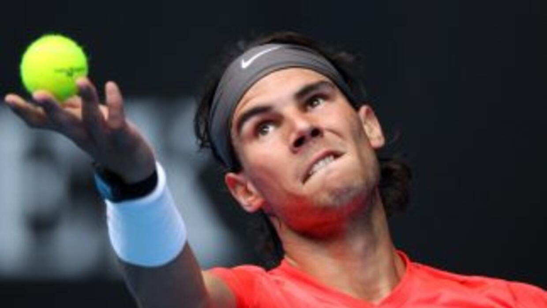 El número uno del mundo busca conseguir el 'Rafa Slam' y comenzó con el...